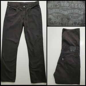 Levi's Men Denim Straight Cotton Jeans Size 36